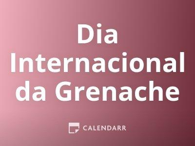 Dia Internacional da Grenache