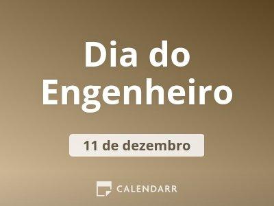 Dia do Engenheiro