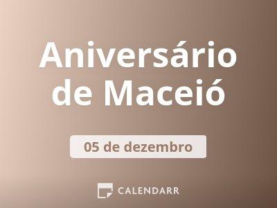 Aniversário de Maceió