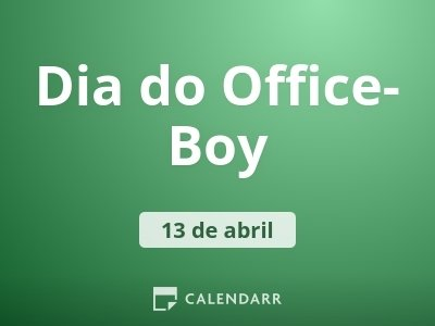 Dia do Office-Boy