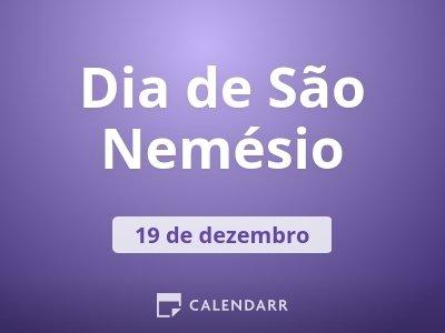 Dia de São Nemésio