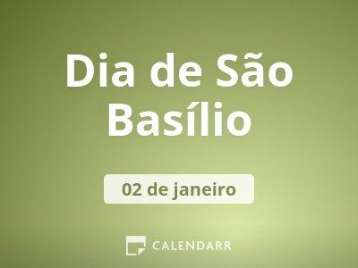 Dia de São Basílio