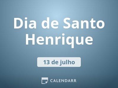 Dia de Santo Henrique
