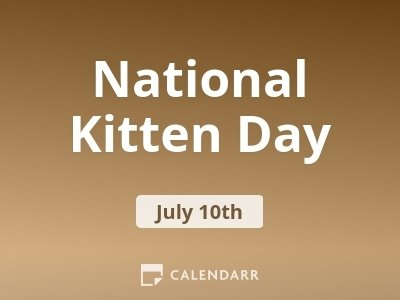National Kitten Day