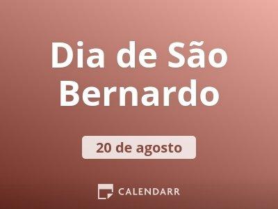 Dia de São Bernardo