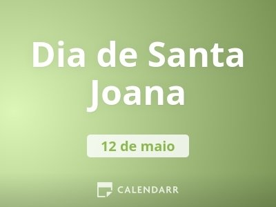 Dia de Santa Joana