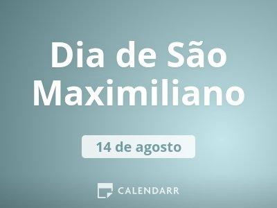 Dia de São Maximiliano