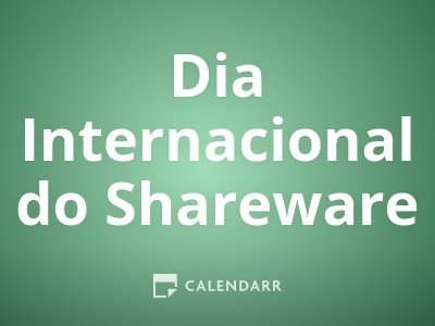 Dia Internacional do Shareware