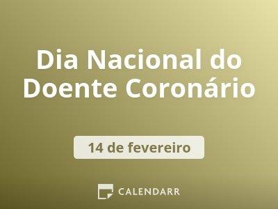 Dia Nacional do Doente Coronário
