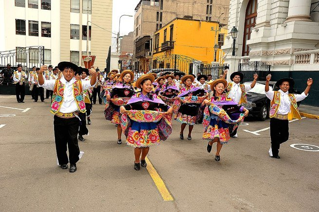 carnaval de perú