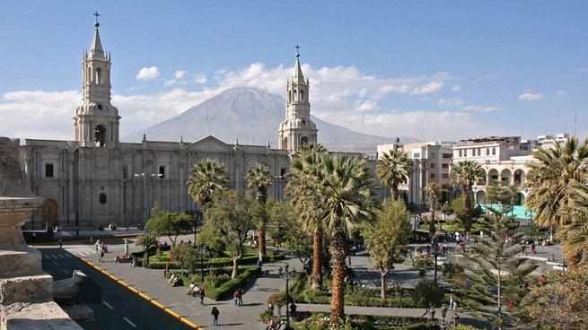 Día otoñal en Arequipa Perú