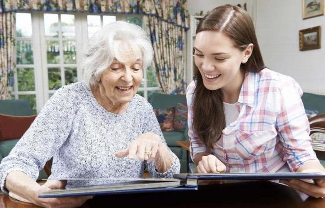 ver fotos com avó