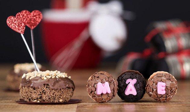 Chocolates para a mãe