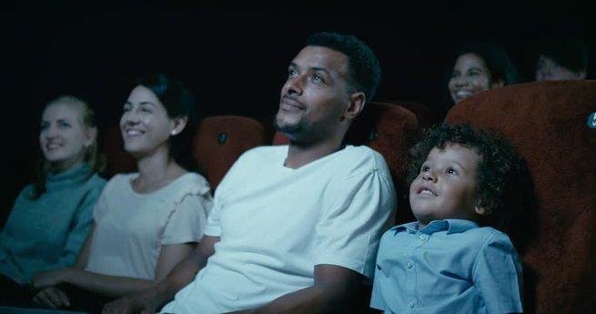 cinema com o pai