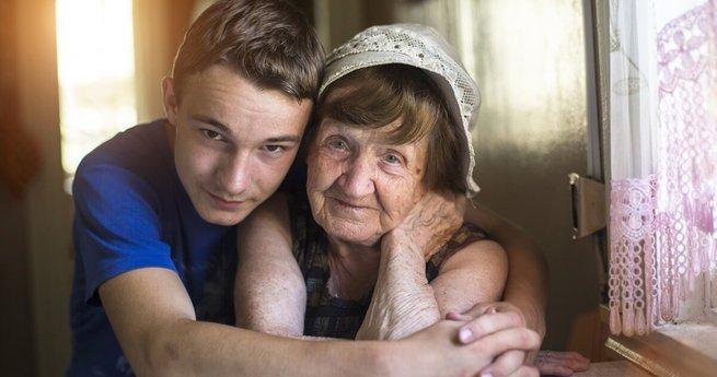 visitar os avós
