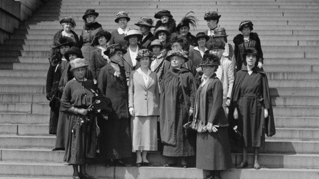 Conferência de mulheres 1910