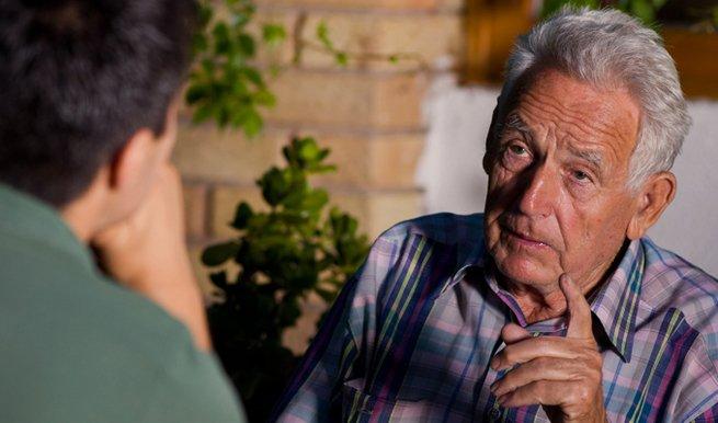 conversar com avós