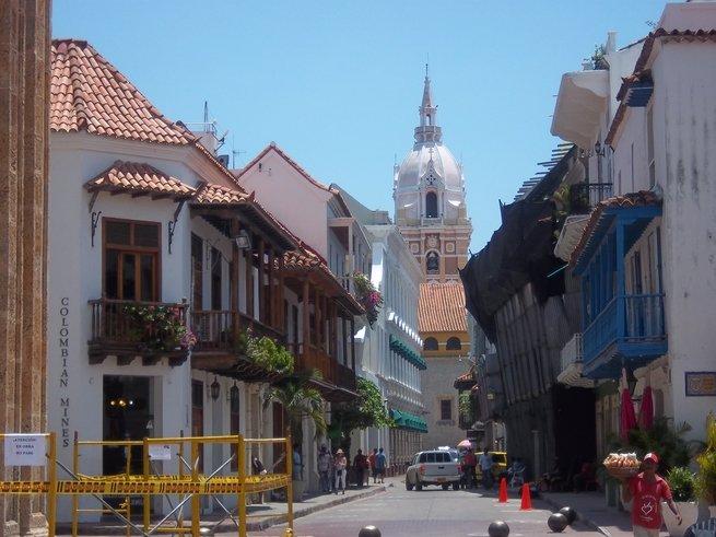 Imagen de un día soleado en Cartagena