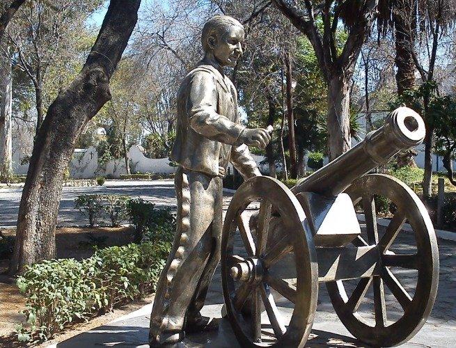 Escultura de Encarnación Ortiz