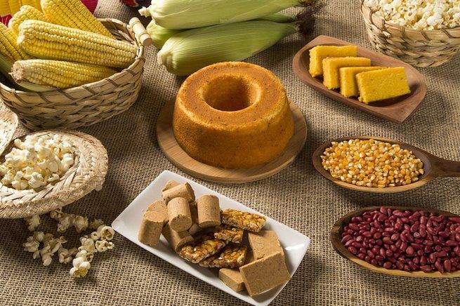 Pratos típicos das festas juninas