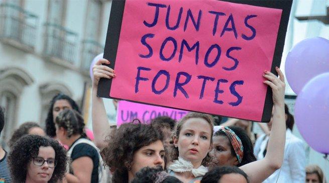 protesto de mulheres