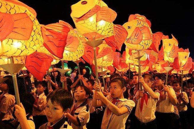 Festival del medio otoño en Vietnam