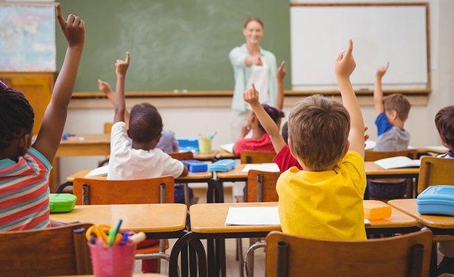 troca de conhecimento professor e aluno