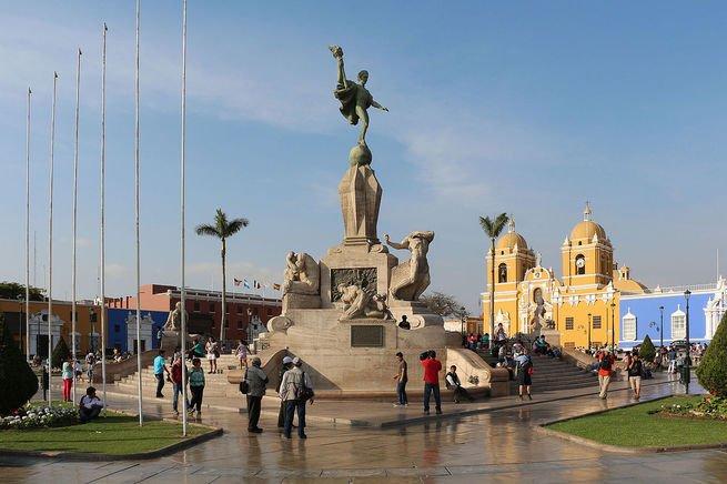 Día primaveral en Trujillo