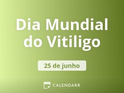 Dia Mundial do Vitiligo