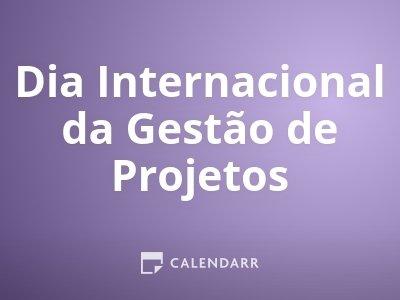 Dia Internacional da Gestão de Projetos