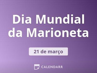 Dia Mundial da Marioneta