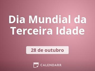 Dia Mundial da Terceira Idade