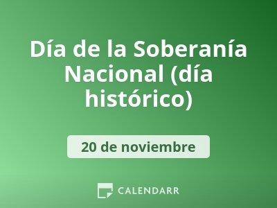 Día de la Soberanía Nacional (día histórico)