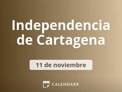 Independencia de Cartagena