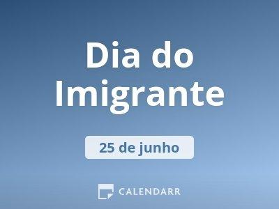 Dia do Imigrante