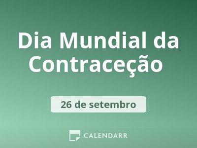 Dia Mundial da Contraceção
