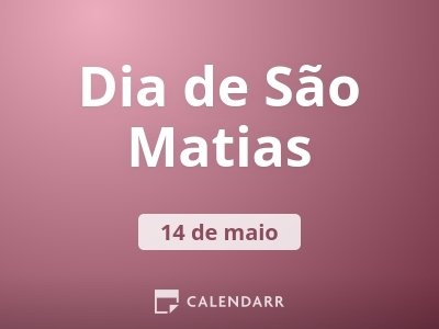 Dia de São Matias