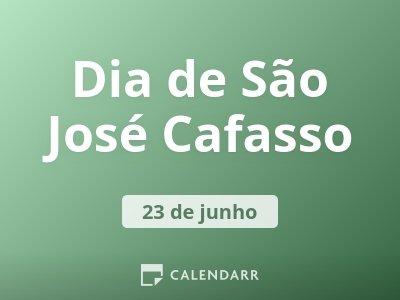 Dia de São José Cafasso
