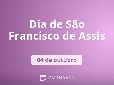 Dia de São Francisco de Assis