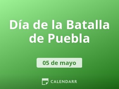 Día de la Batalla de Puebla
