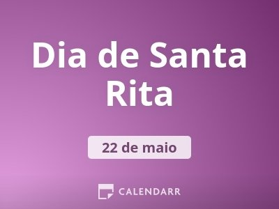 Dia de Santa Rita