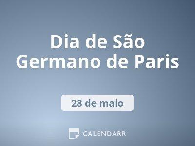 Dia de São Germano de Paris