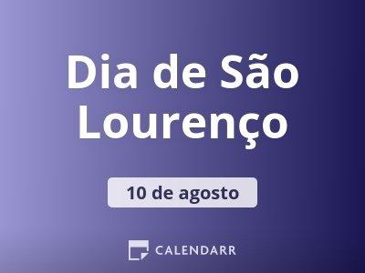 Dia de São Lourenço
