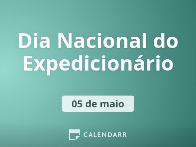 Dia Nacional do Expedicionário