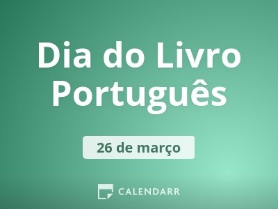 Dia do Livro Português