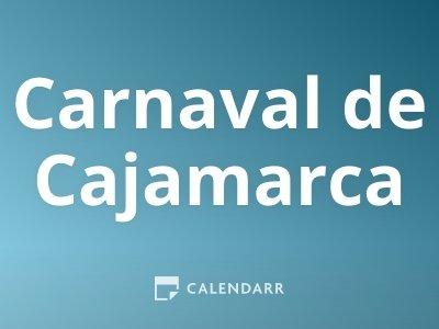 Inicio del Carnaval de Cajamarca