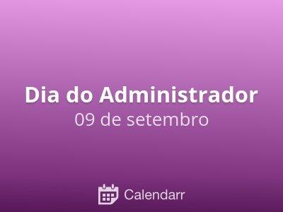 Dia do Administrador