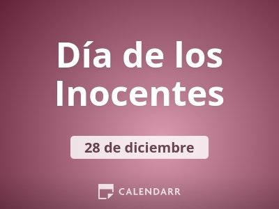 Día de los Inocentes