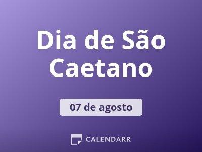 Dia de São Caetano