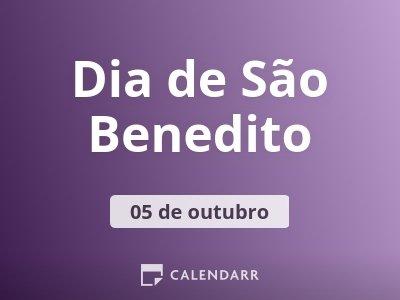 Dia de São Benedito